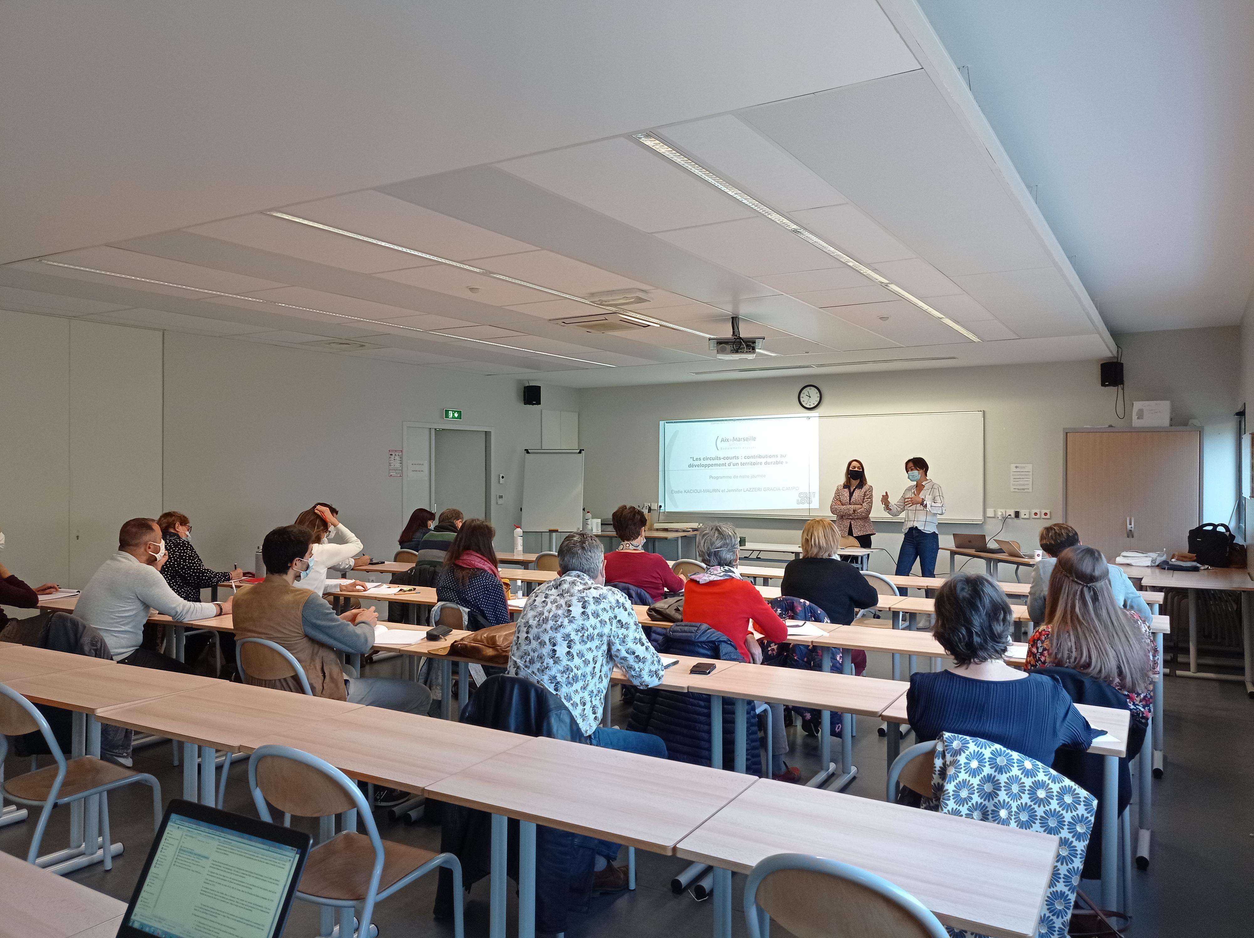 Rencontre Enseignant Chercheur Aix Marseille 2013